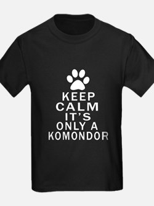 Komondor Keep Calm Designs T