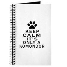 Komondor Keep Calm Designs Journal