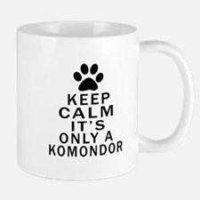Komondor Keep Calm Designs Mug