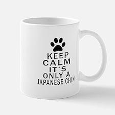 Japanese Chin Keep Calm Designs Mug
