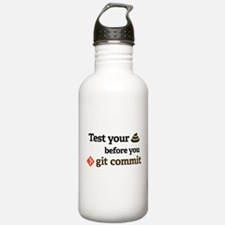 Test your **** before Water Bottle