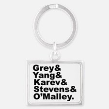 Cute Abc tv shows Landscape Keychain