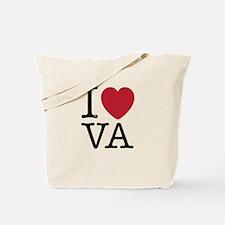 I Love VA Virginia Tote Bag