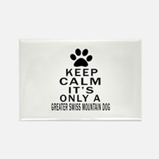 Greater Swiss Mountain Dog Keep C Rectangle Magnet