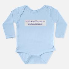 Behavior Long Sleeve Infant Bodysuit