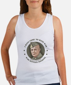 Eisenhower -War Women's Tank Top