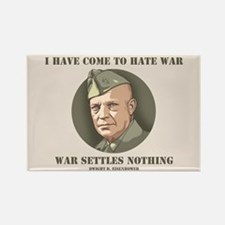 Eisenhower -War Rectangle Magnet