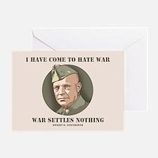 Eisenhower -War Greeting Card