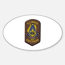 Illinois State Police Freemason Decal