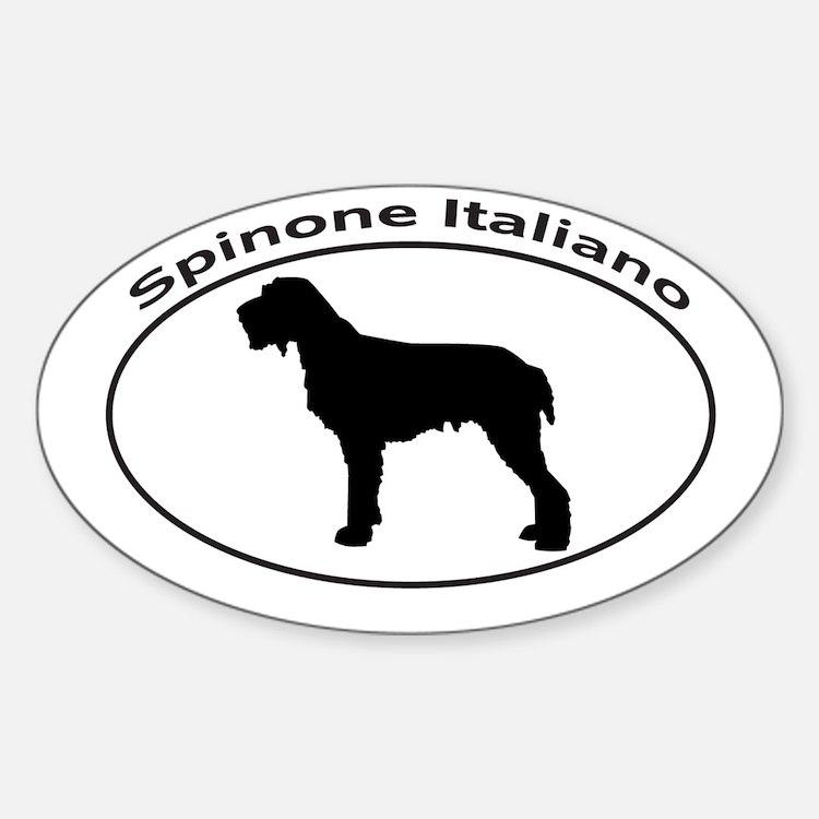 SPINONE ITALIANO Sticker (Oval)