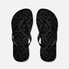 Elegant Black Flip Flops