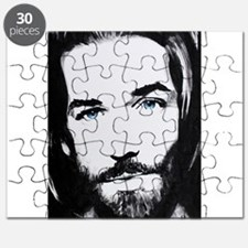 """Follow Me"" Look into the eyes of Jesus Puzzle"