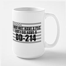 American Flag DD214 Mug