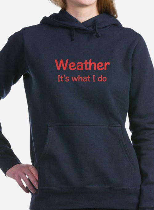 Cute Weather Women's Hooded Sweatshirt