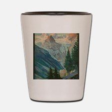 Funny Alps Shot Glass