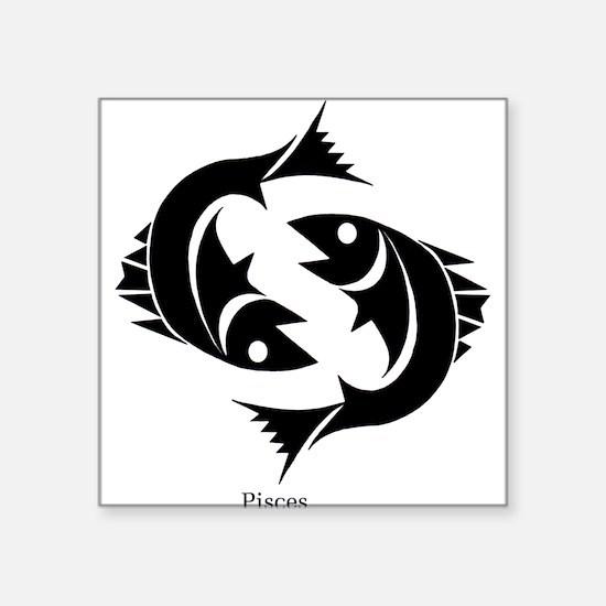 """Cute Chinese zodiac Square Sticker 3"""" x 3"""""""