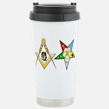 Unique Freemasonry Travel Mug