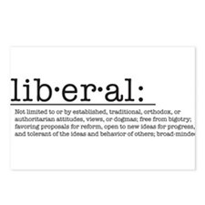 Liberal Definition Postcards (Package of 8)
