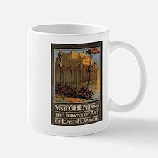 Vintage poster - Ghent Mugs