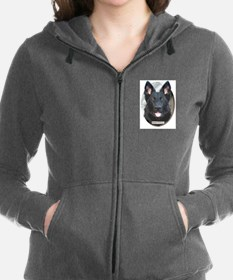 Cool Search dog Women's Zip Hoodie