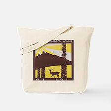 Cute Antelope park Tote Bag