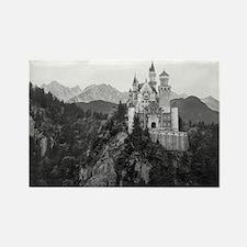 Cool Neuschwanstein castle Rectangle Magnet