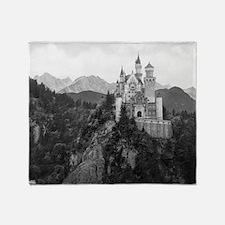 Cool Neuschwanstein castle Throw Blanket
