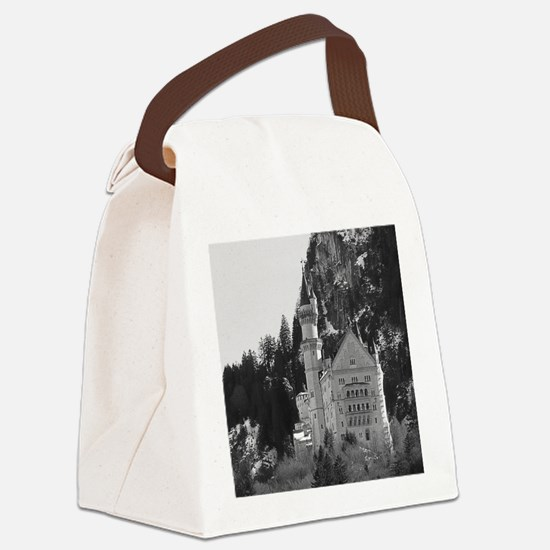 Cute Castle germany Canvas Lunch Bag
