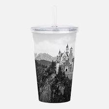 Neuschwanstein Castle Acrylic Double-wall Tumbler