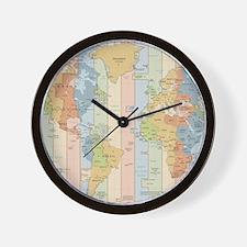 map clocks map wall clocks large modern kitchen clocks
