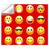 Emoji Wall Decals