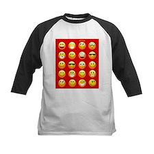 red emojis Baseball Jersey