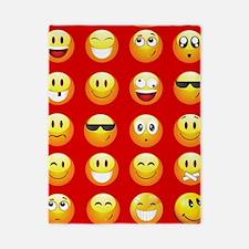 red emojis Twin Duvet
