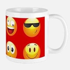 red emojis Mugs