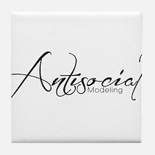 Antisocial Model Tile Coaster