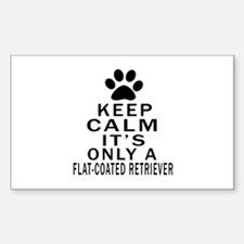 Flat-Coated Retriever Ke Decal