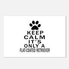 Flat-Coated Retriever Kee Postcards (Package of 8)