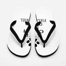 Field Spaniel Keep Calm Designs Flip Flops