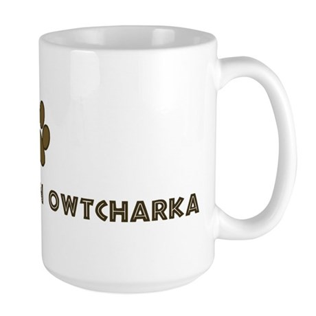 South Russian Owtcharka (dog Large Mug