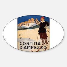 Vintage poster - Cortina d'Amprezzo Decal