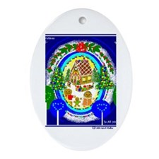 Christmas Oval Ornament