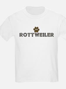 Rottweiler (dog paw) T-Shirt