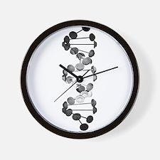 Barbell DNA Wall Clock