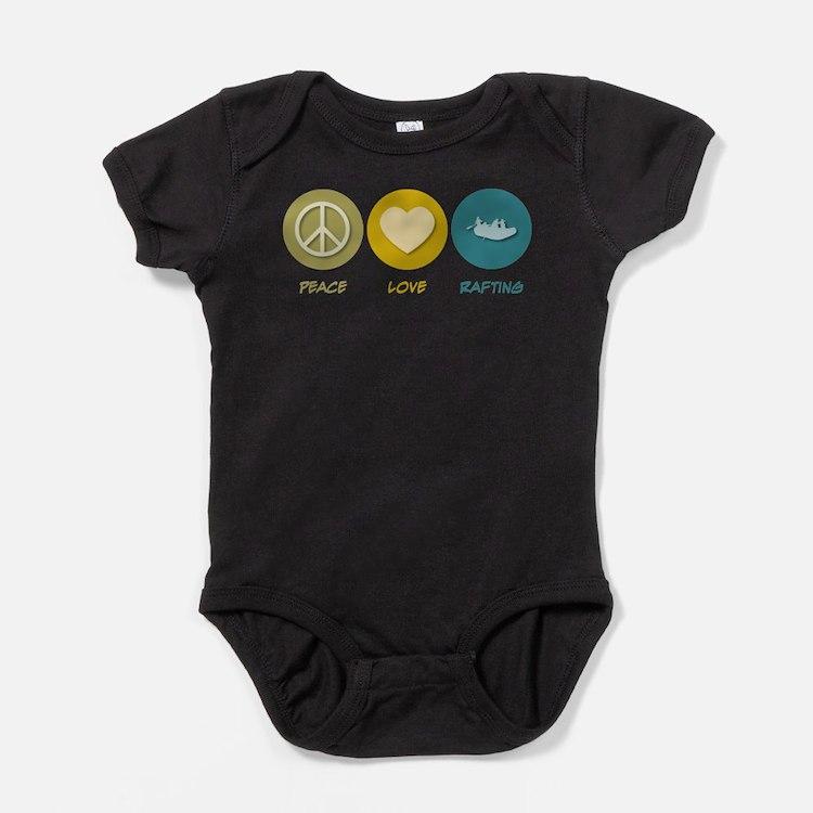 Cute Rafting Baby Bodysuit