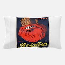 Vintage poster - Relsky Vodka Pillow Case