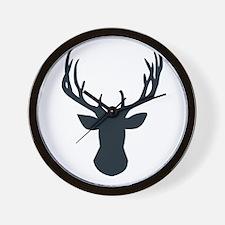 Deer Antlers Deer Head Antler Rack Wall Clock