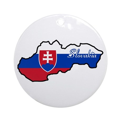 Cool Slovakia Ornament (Round)