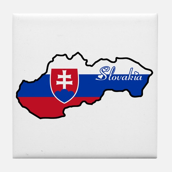 Cool Slovakia Tile Coaster