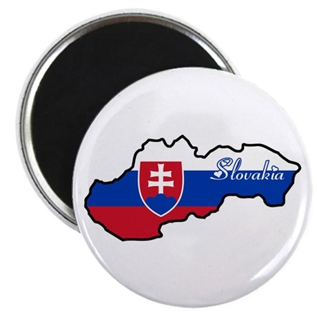 """Cool Slovakia 2.25"""" Magnet (100 pack)"""