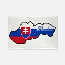 Cool Slovakia Rectangle Magnet